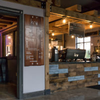 Kru Coffee 1st Floor Front Counter little
